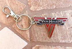 Van Halen Logo Metal Keychain 3