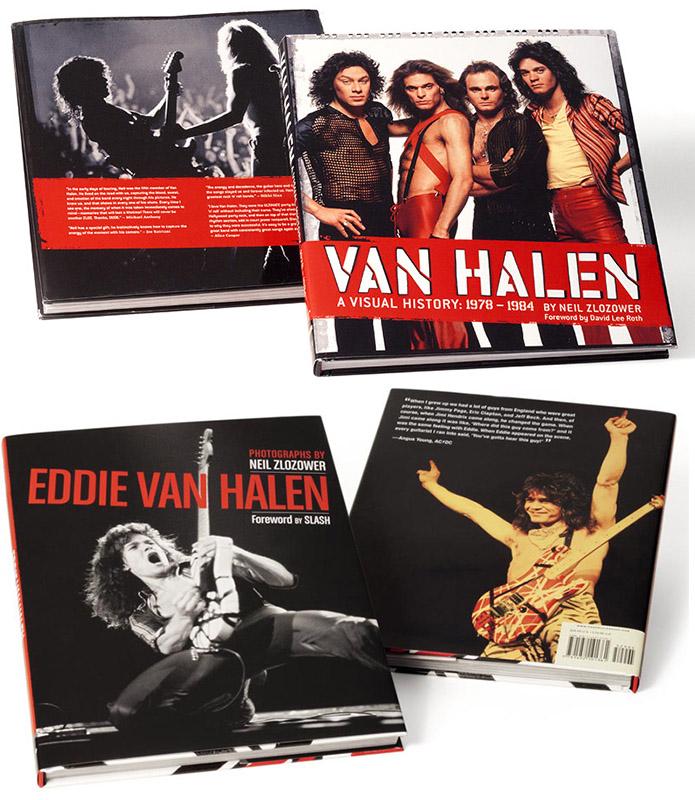 Van Halen Coffee Table Book Set Van Halen Store
