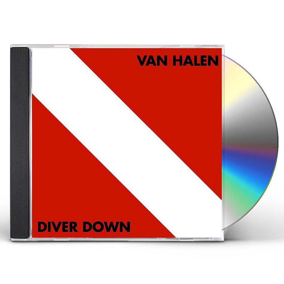 ea3ccd27533 Diver Down CD (2015 Remaster)  Van Halen Store