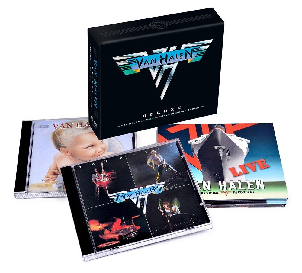 3adca5eb80a Deluxe (4-CD Box Set)  Van Halen Store