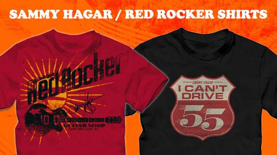 1c6e1a067ed Van Halen Related Shirts. View All Sammy Hagar   Red Rocker Shirts ...