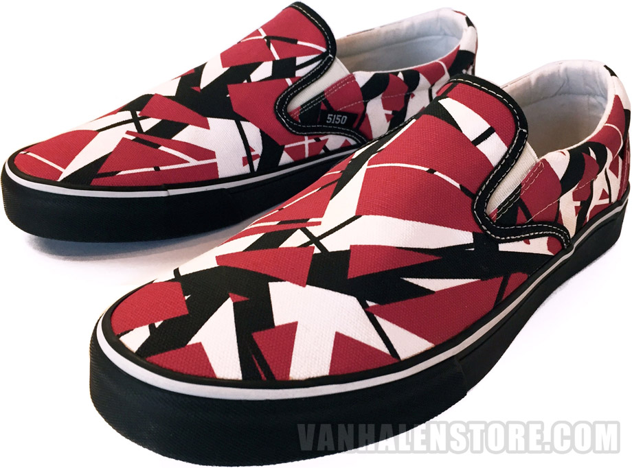 EVH Slip-On Sneakers: Van Halen Store