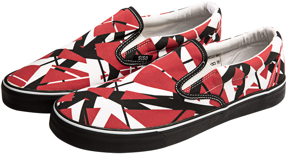e3ff4bf77fd EVH Slip-On Sneakers  Van Halen Store