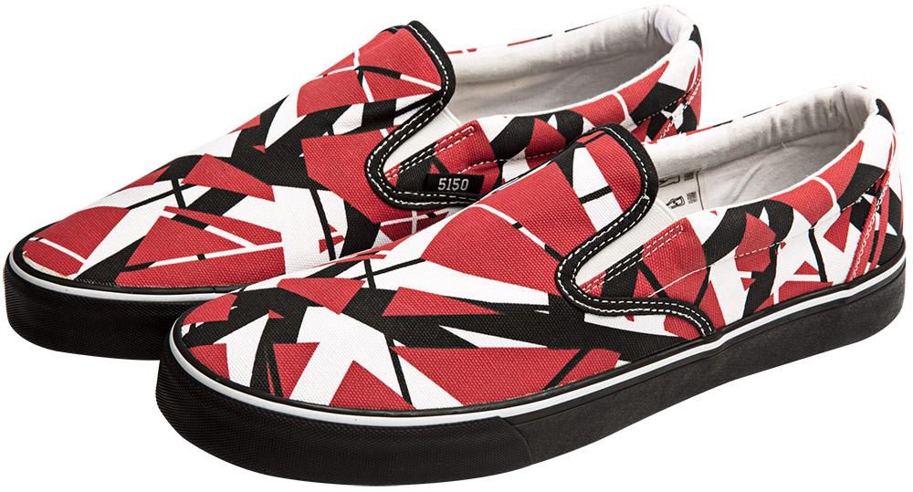 5c7b35ee21d931 EVH Slip-On Sneakers  Van Halen Store