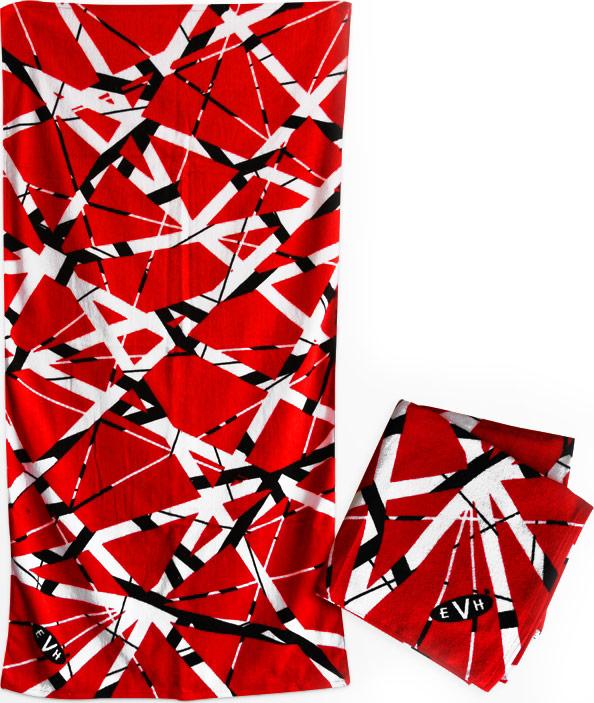 1a846f174fc Eddie Van Halen Beach Towel  Van Halen Store