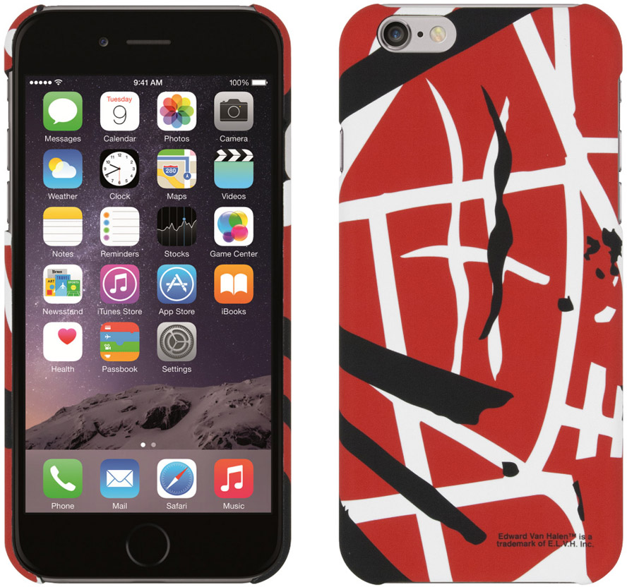 watch fb574 92db9 Red EVH iPhone 6/ 6P Case