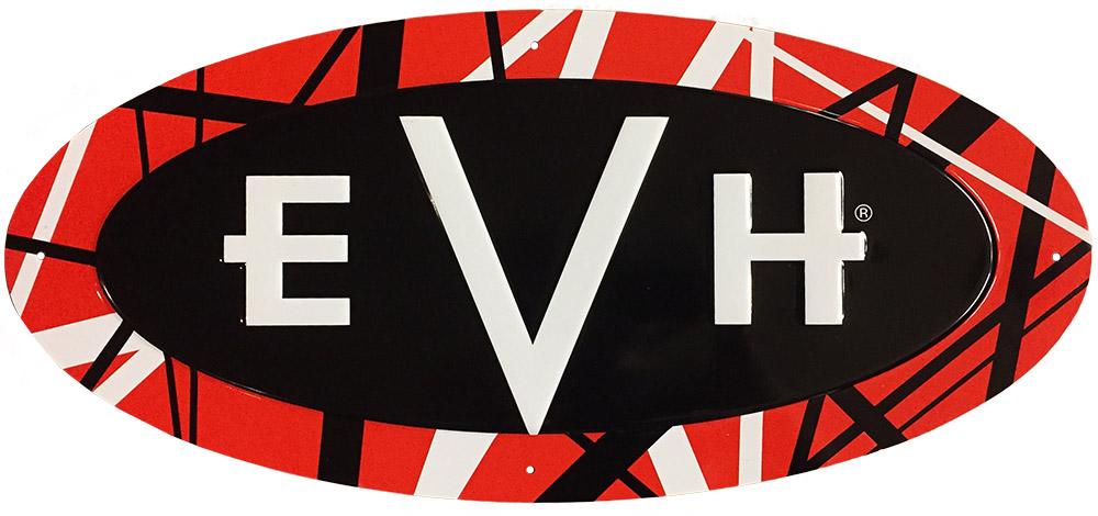 Evh Embossed Tin Sign Van Halen Store