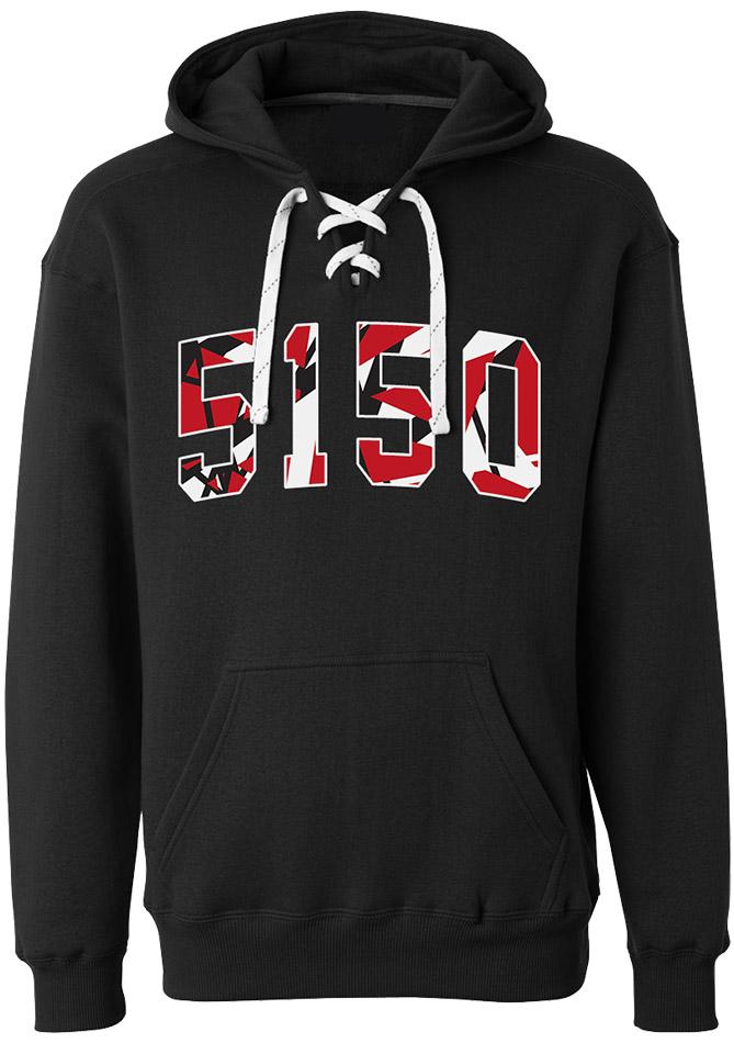 5150 Hockey Hoodie