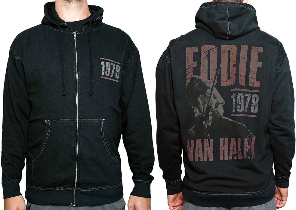 ec2367bda35 EVH  78 Full-Zip Hoodie  Van Halen Store