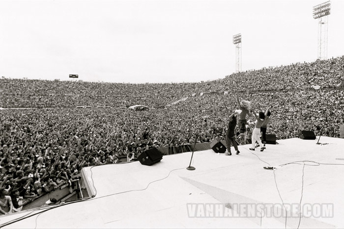1981 Van Halen Photographic Print Van Halen Store