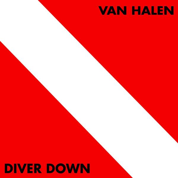 98204de607a Diver Down 180-gram Vinyl LP  Van Halen Store