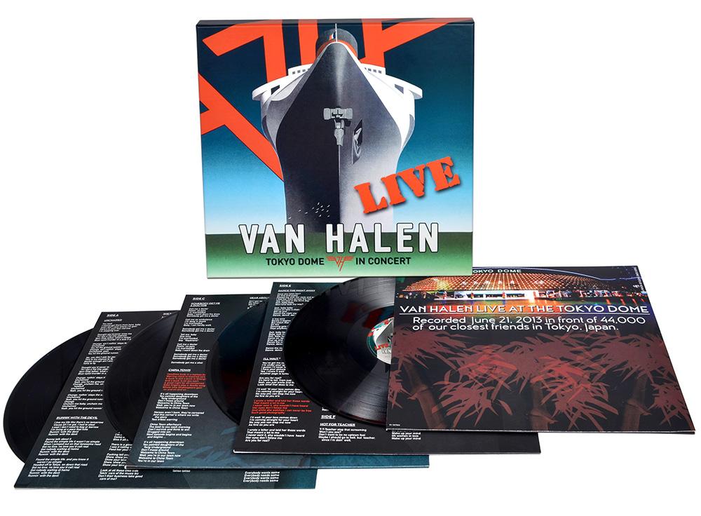 a45b6860107 Tokyo Dome In Concert (4-LP Vinyl)  Van Halen Store