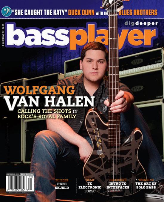 Bass Player Wolfgang Van Halen Van Halen Store