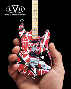 Eddie Van Halen Mini Guitars 3