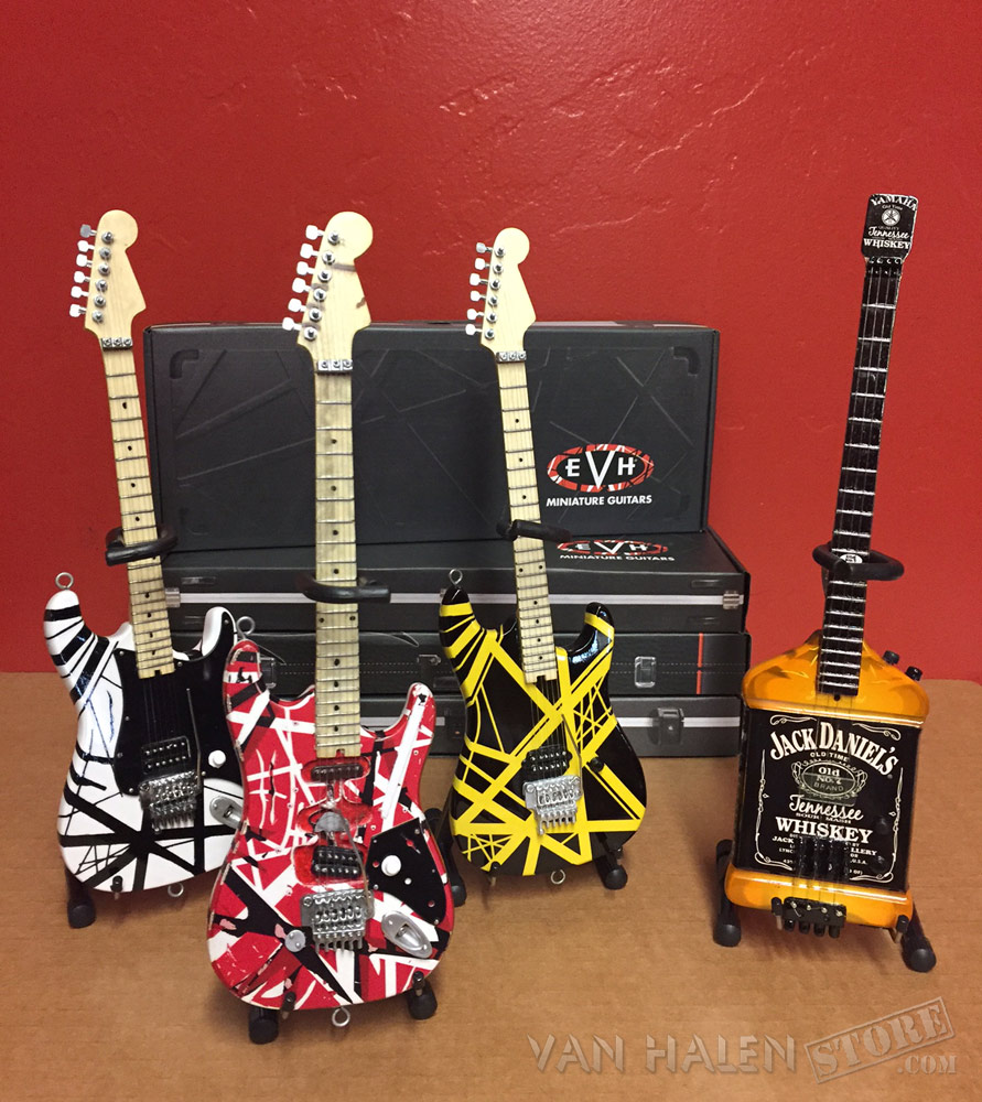 Set Of All 4 Mini Guitars