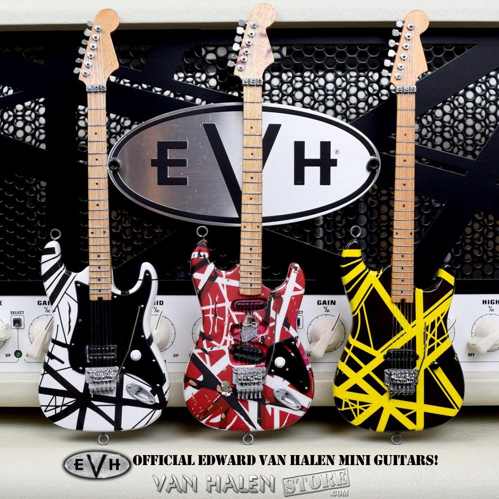 EVH Mini Guitars Set