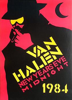 Van Halen 1984 Promo Poster