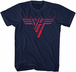 Red Logo on Navy Shirt