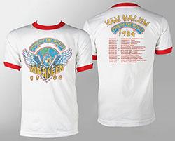 Van Halen 1984 Tour Ringer
