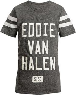 Eddie Van Halen Varsity Tee
