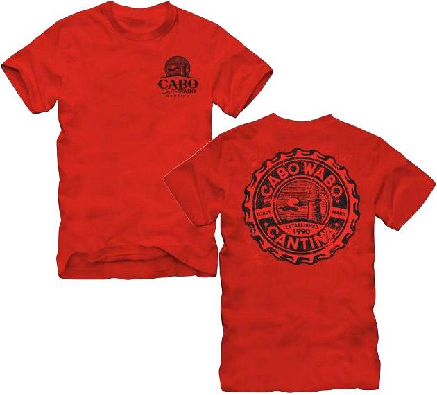 Cabo Wabo Cantina Shirt Van Halen Store