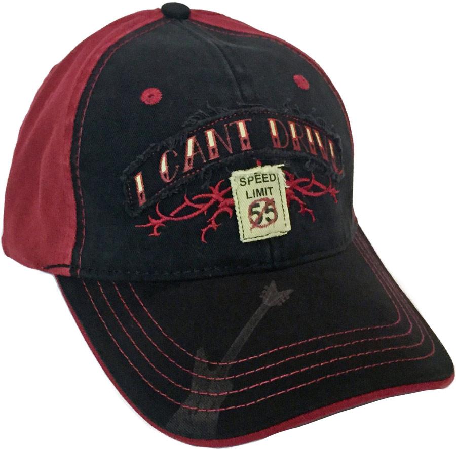 I Can't Drive 55 Cap: Van Halen Store