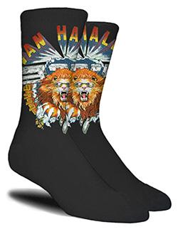 Lion Logo Socks