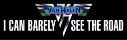 Van Halen Bumper Sticker