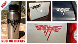Van Halen Rub-On Decal Set