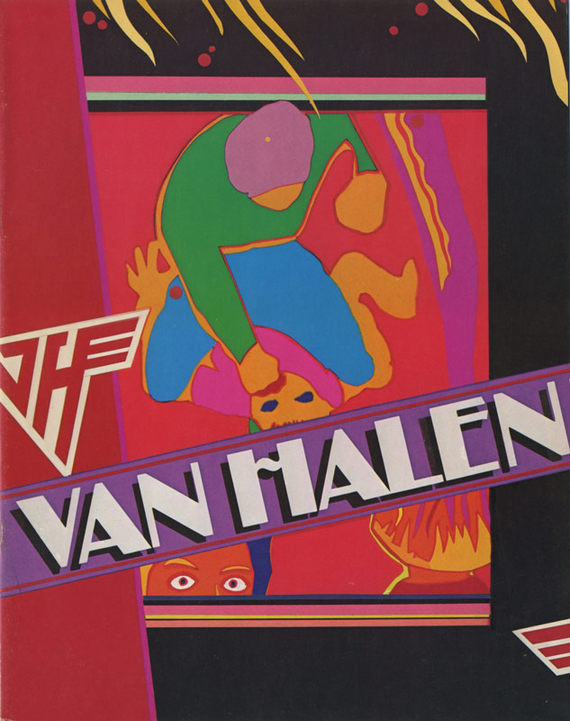 Fair Warning Tourbook Van Halen Store