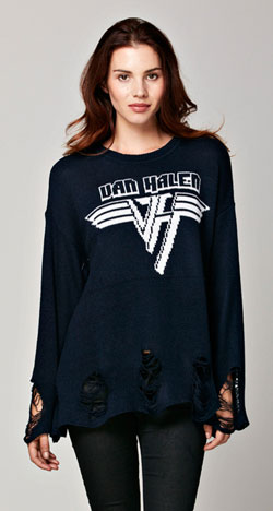 Women's Van Halen Knit Sweater