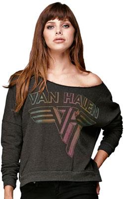 Van Halen Sunburst Logo Pullover