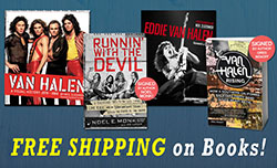 Free Shipping on Van Halen Books
