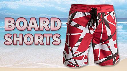 ec17f844824 Van Halen clothing accessories · EVH Board Shorts