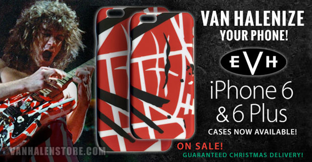 EVH iPhone 6 & 6 Plus cases now available
