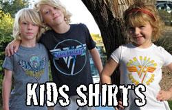 Kid's Van Halen Shirts