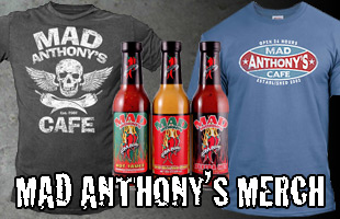 Mad Anthony Merchandise