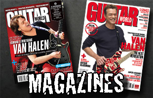 View All Magazines featuring articles on the members of Van Halen