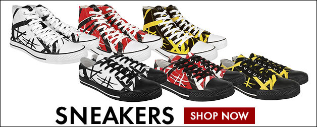 View all EVH Striped Sneakers.