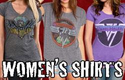 Women's Van Halen Shirts